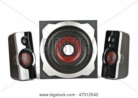 Speaker System With Subwoofer
