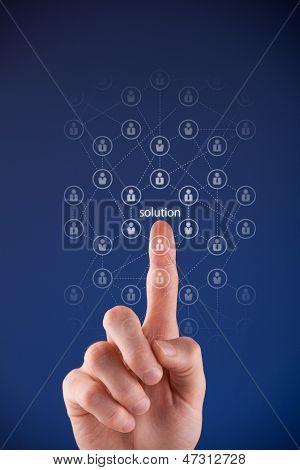 Crowdsourcing-Konzept