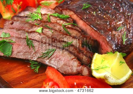 Roast Beef Meat Slices