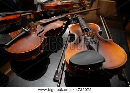 Musicians Have A Rest