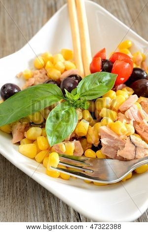 Tunny And Corn Salad