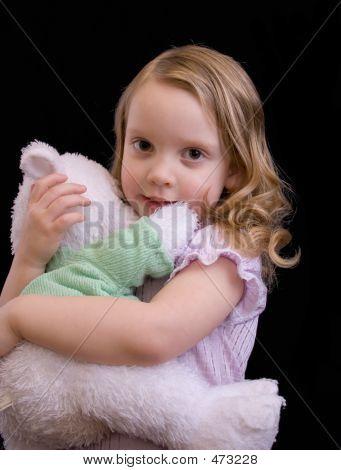 Little Girl In Pj's