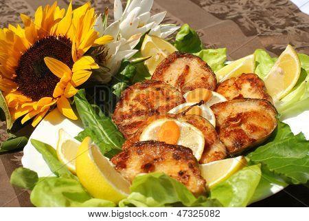 Delicious Catfish Escalope