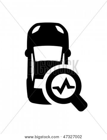 Car diagnostics icon