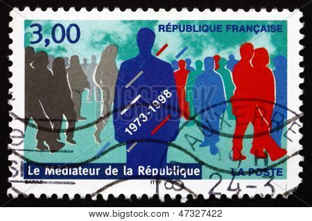 Postage Stamp France 1998 Office Of Mediator Of The Republic