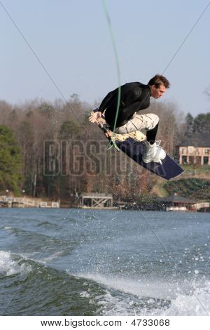 Wakeboard Stunt