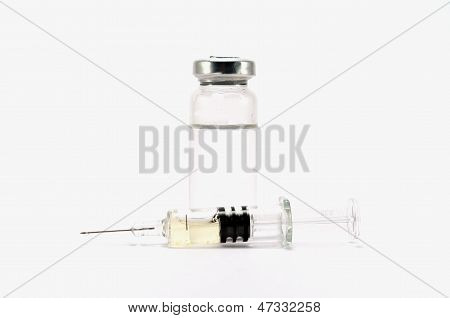 Ampoule And Syringe