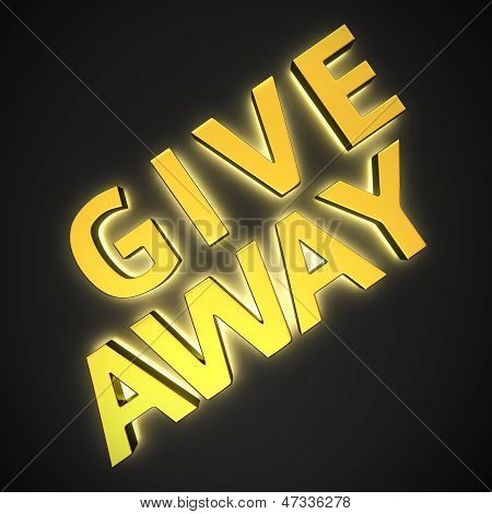 Golden Sign Give Away