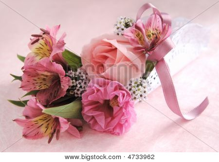 Pink Flower Bouquet