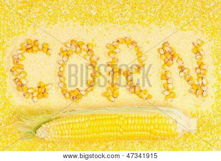 Sweetcorn groats