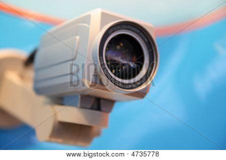 CCTV câmera de vídeo.