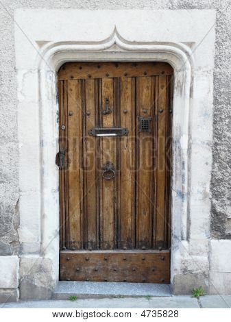 Old Medieval Doorway