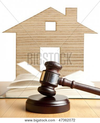 Property offered for sale by a court