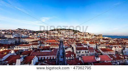 Panorma Alfama, Lisbon