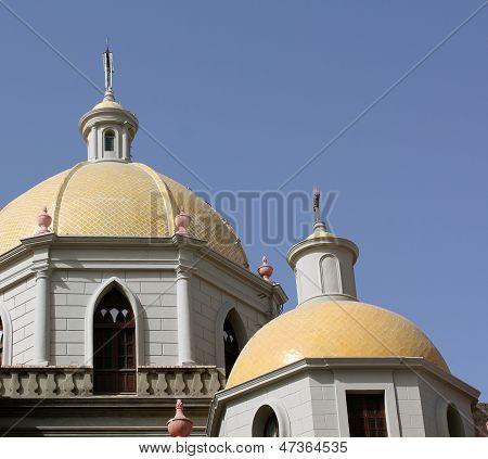 Yellow Church Cupolas