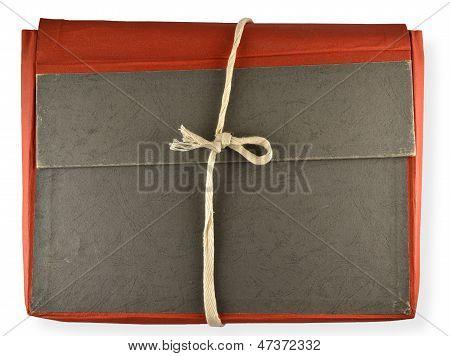 Antique Red Folder
