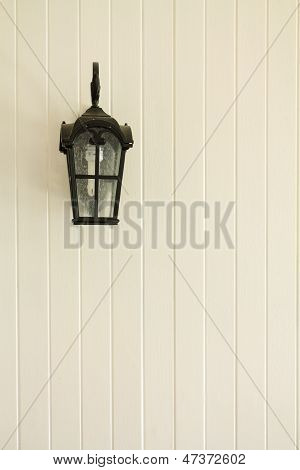 Lamp Posts On The Wall