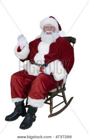 Santa Rocking