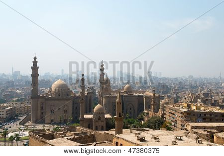 View over Cairo city
