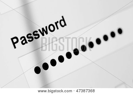 Password box