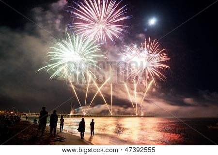 Fireworks By The Sea