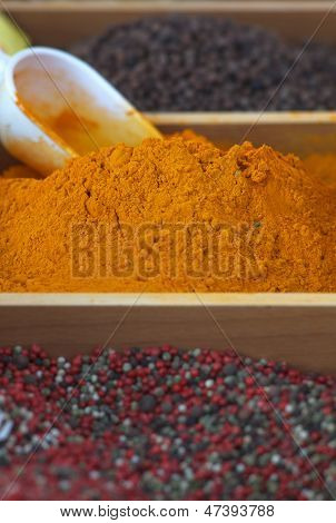 Curcuma And Other Spices