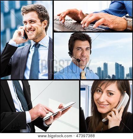 Zusammensetzung der Kommunikation im Zusammenhang mit Bilder