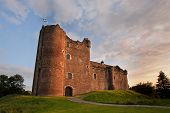 stock photo of duke  - Doune Castle near Stirling - JPG
