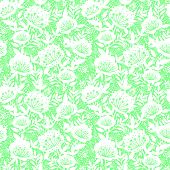 Pastel dream flowers seamless pattern background