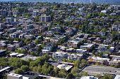 stock photo of view from space needle  - View of Seattle from Space Needle - JPG