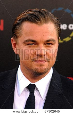 Leonardo DiCaprio at the