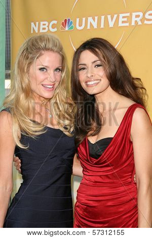 Virgina Williams and Sarah Shahi at the NBC Summer Press Tour Party, Beverly Hilton Hotel, Beverly Hills, CA. 07-30-10