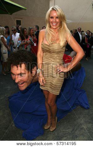 Gena Lee Nolin  at the Comedy Central Roast of David Hasselhoff, Sony Studios, Culver City, CA. 08-01-10