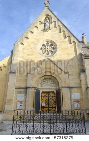 Chapel Of Apparition, Paray-le-monial, France
