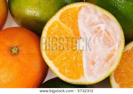 Creamy orange