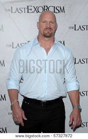 Steve Austin  at a Special Screening of