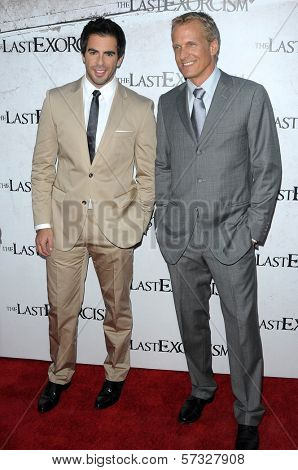 Eli Roth and Patrick Fabian at a Special Screening of