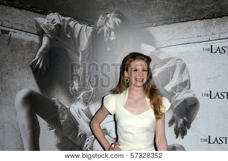 Ashley Bell at a Special Screening of