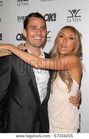 Giuliana Rancic and husband Bill Rancic at the OK Magazine USA Fifth Anniversary Party, La Vida, Hollywood, CA. 08-01-10