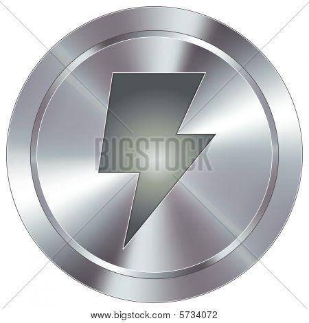 Energía moderna o botón de relámpago