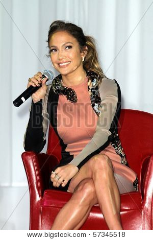 Jennifer Lopez at the Jennifer Lopez and Enrique Iglesias Summer Tour 2012 Press Conference, Blvd. 3, Hollywood, CA 04-30-12