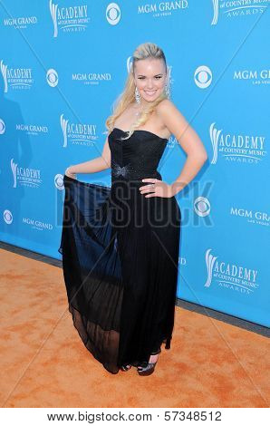 Cheyenne Kimball at the 45th Academy of Country Music Awards Arrivals, MGM Grand Garden Arena, Las Vegas, NV. 04-18-10