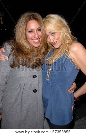 Michelle Karam and Jennifer Blanc-Biehn  at Jennifer Blanc-Biehn's Birthday Party, Sardos, Burbank, CA. 04-23-10