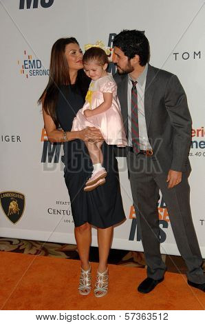 Ali Landry and husband Alejandro Gomez Monteverde  at the 17th Annual Race To Erase MS, Century Plaza Hotel, Century City, CA 05-07-10