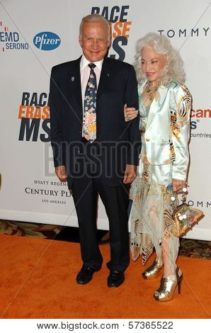 Buzz Aldrin and Wife Lois at the 17th Annual Race To Erase MS, Century Plaza Hotel, Century City, CA 05-07-10