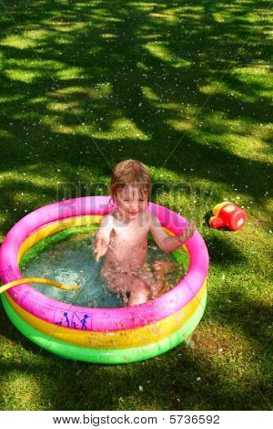 Paddling Pool Child