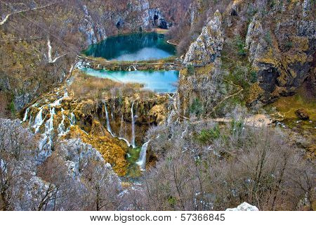Falling Lakes Of Plitvice National Park