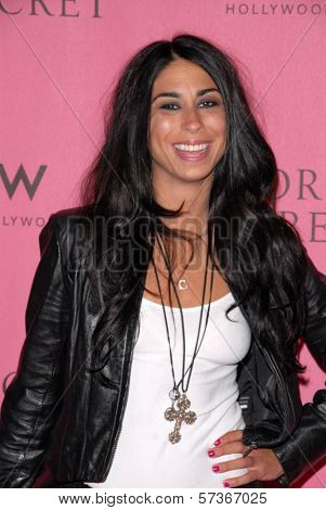 Courtenay Semel  at the Victoria's Secret Supermodels Celebrate the Reveal of the 2010