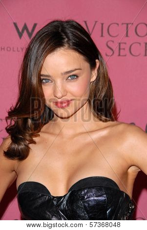 Miranda Kerr at the Victoria's Secret Supermodels Celebrate the Reveal of the 2010
