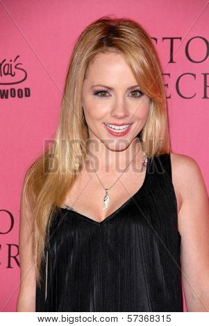 Kelly Stables at the Victoria's Secret Supermodels Celebrate the Reveal of the 2010